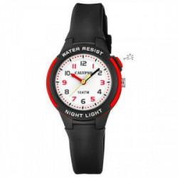 Reloj Calypso niño caucho negro - K6069/6