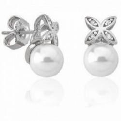 Pendiente perla plata - 16042.01.2.000
