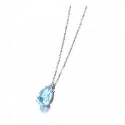 Gargantilla oro blanco y diamantes - GD034OBAG.00