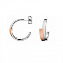 Pendientes acero CK Bicolor - KJ2HPE280100