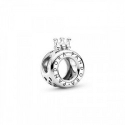 Crown O sterling silver charm - 799036C00