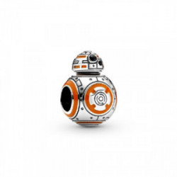 Star Wars BB8 sterling silver charm with - 799243C01