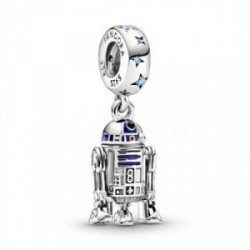 Star Wars R2D2 sterling silver dangle wi - 799248C01