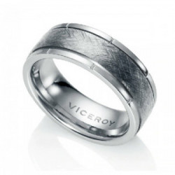 ANILLO ACERO BICOLOR SR FASHION - 15002A02400