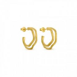 Pendiente Latón con baño de oro - J3374AR033200