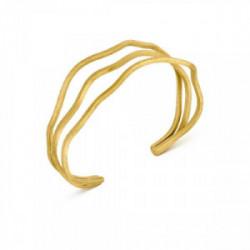 Pulsera Rígida Latón con baño de oro - J3374PO013200