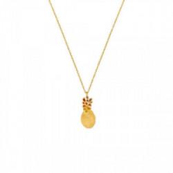 Collar Latón con baño de oro - J3387CO023200