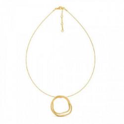 Collar Latón con baño de oro - J3374CO013200