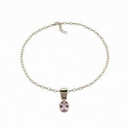 Pendientes Durán Exquse De La Colección Isis Realizado En Plata 925 Bañado En Oro Rosa Con Cuarzos De Colores - 00508153