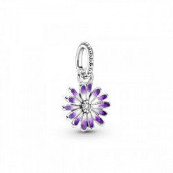 Daisy sterling silver dangle with clear  - 798771C01