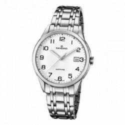 Reloj Candino caballero acero esf bla - C4614/2