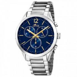 Reloj Lotus crono acero esfera azul - 18114/3