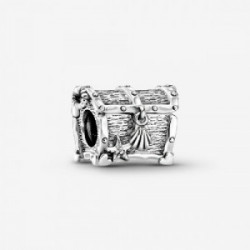 Chest of treasure sterling silver charm - 799432C00