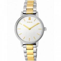 Reloj Tous Rond Straight acero bicolor IP dorado - 100350475