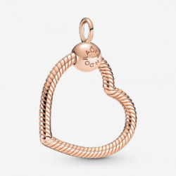 Heart Pandora Rose O pendant - 389384C00