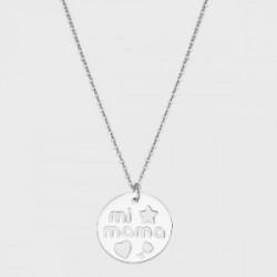 LOTUS SILVER (plata 925 mls) COLLAR SRA.REDONDO.MI-MAMA. - LP3232-1/1