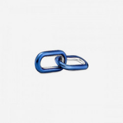 Sterling silver double link with transpa - 799663C01