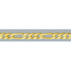 Cadena oro 750 mls (18 K) BP 1x 3 45 cm