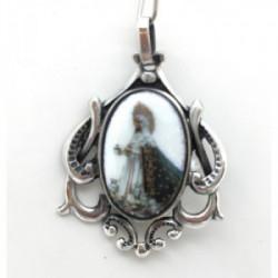 Medalla Plata Virgen de la Esperanza 35 mm - ME028-LA ESPERANZA