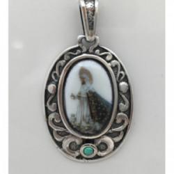 Medalla Plata Virgen de la Esperanza 35mm - ME029-LA ESPERANZA