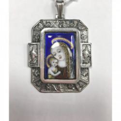 Medalla plata esmalte - ME034