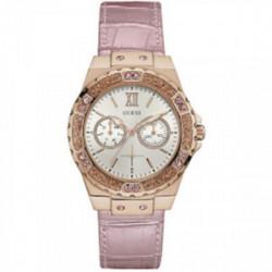 Reloj Guess Señora Correa Piel Rosa - W0775L3