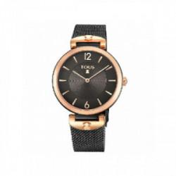 Reloj TOUS correa malla negra y dorada - 700350300