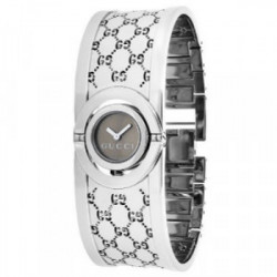 GUCCI THE TWIRL WATCH MARRON/ACER/PULSERA - YA112501