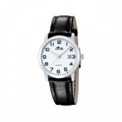 Reloj Lotus Acero Correa Piel - 18240/1