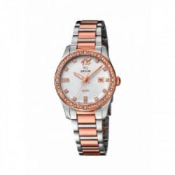 Reloj Jaguar brazalete bicolor - J822/1