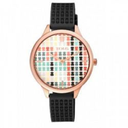 Reloj   T O U S  Tartan Multicolor negro - 900350135