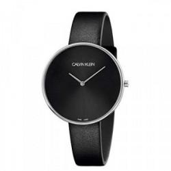 Reloj Ck de Señora correa piel negra - K8Y231C1