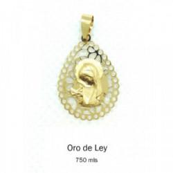 Medalla Oro Lagrima