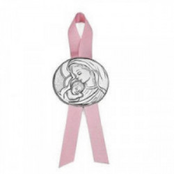 Medalla de Cuna Doble Virgen con niño  - 07500279