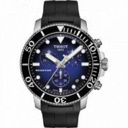 Tissot Seastar Ch Noir Bleu - T1204171704100