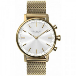 KRONABY Carat 38 Gold - White, Gold Mesh - S0716/1