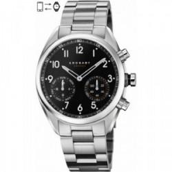 KRONABY Apex 43 Steel - Black, Bracelet - S3111/1