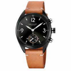 KRONABY Apex 41 Black - Black, Brown Lea - S3116/1