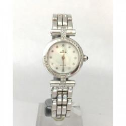 Reloj Exactus Oro Blanco 1ª Ley 750 mm y Brillante