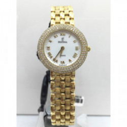 FESTINA ORO 750 ml y brillantes talla diamantes