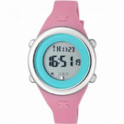 Tous digital correa caucho rosa - 800350615
